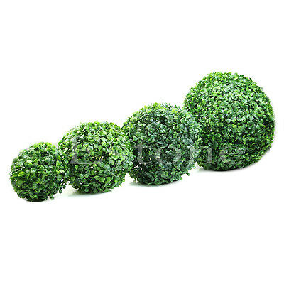 HOT Artificial Plant Ball Topiary Tree Boxwood Wedding Party Home Outdoor Decor