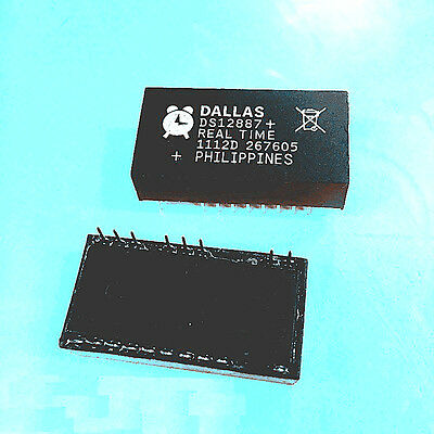 DS12887 DS12887A DS12887 DIP IC Dallas Real Time Clock RAM 128