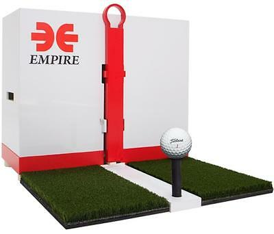 Automatic Golf Ball Dispenser Mat No Electricity Indoor Self-Practice training