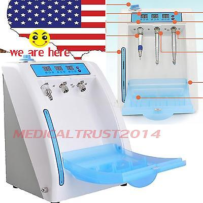 Dental Handpiece Maintenance Oil System Device Cleaning Lubrication 300ml + pipe