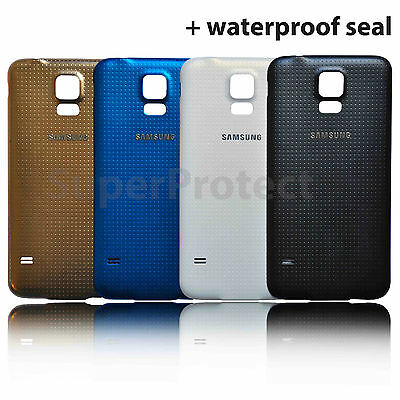 Genuine Samsung Galaxy S5 Original Rear Back Battery Cover Panel G900F/G901F S5+