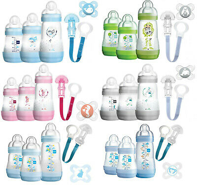 MAM Starterset - Welcome to the World Anti-Colic Flaschenset *Angebot*