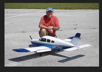 Piper Arrow II  81 inch Giant Scale RC AIrplane PDF Plans & 77 page manual on CD