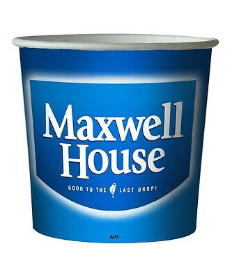 Maxwell House Coffee White / Black 76mm Kenco Maxpax vending in cup Incup drinks