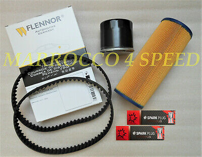 Cagiva Alazzurra 350 500 600 650 inspection set timing belt spark oil air filter