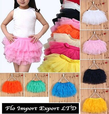 Gonna Tutù Tulle Balze Bambina Girl Tutu Skirt DAS022
