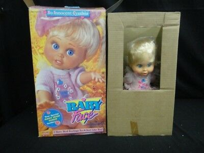 Vintage  Galoob  Baby Face, So Innocent Cynthia Mint In Box