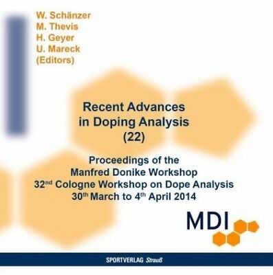 Recent Advances in Doping Analysis, CD-ROM (Software) NEU