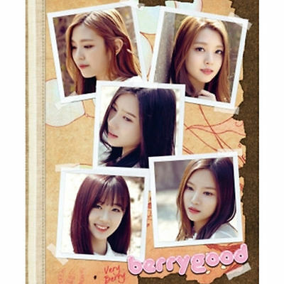 BERRY GOOD - VERY BERRY (1st Mini Album), CD + Booklet +Poster