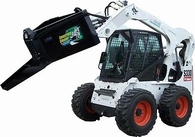 Skid Steer Concrete Dispenser 1/2 Yard capacity - Dispense concrete with ease