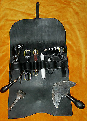Spares Case for Carriage Harness. Handmade by Robert H Steinke