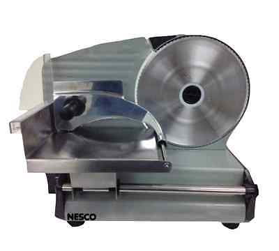 Electric Meat Slicer Heavy Commercial Steel Deli Cheese Cutter Restaurant Food