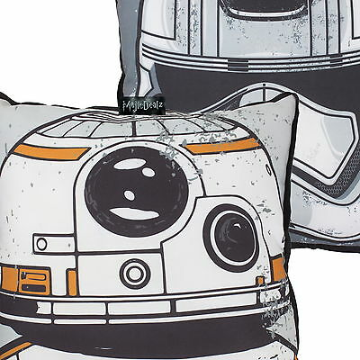 Star Wars Force Awakens Episode Vii Order Bb8 Canvas Cushion 100% Official New