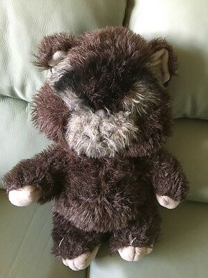 "VINTAGE 15"" Star Wars EWOK PLUSH TOY STUFFED ANIMAL 1984 Lucas Films"