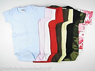SHORT SLEEVE ONSIES (Wholesale Lots of 500)