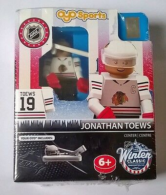 Jonathan Toews Chicago Blackhawks NHL OYO Brick Toy Action Figure