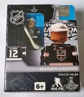Marian Gaborik LA Kings NHL 2014 Stanley Cup OYO Brick Toy Action Figure