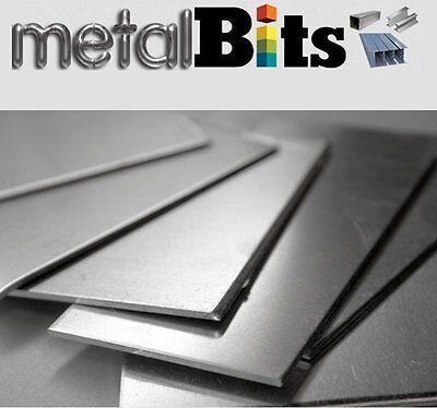 Bright Mild Steel Sheet Steel (Various sizes available) Cold Rolled