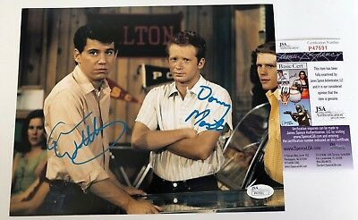 ANSON WILLIAMS & DON MOST signed 8X10 Photo HAPPY DAYS Potsie & Ralph JSA