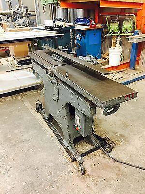 "American Wood Working 8"" Jointer with mobile base."