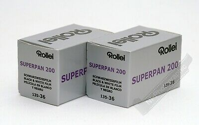 Rollei Superpan 200 Infrared Effect Black & White 200asa 35mm 36exp Film 3 Rolls