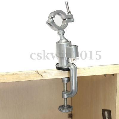Clamp-on Grinder Holder Bench Vise Vice For Electric Drill Stand 360 Rotaring