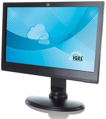 Igel UD10 Touch thin clients, two, wide screens