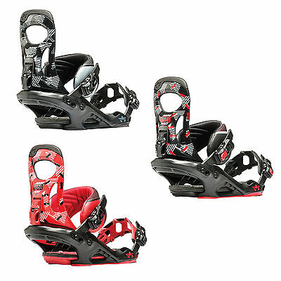 Rome Mob Boss Mens Snowboard Bindings 2016 Snow Free Delivery Australia