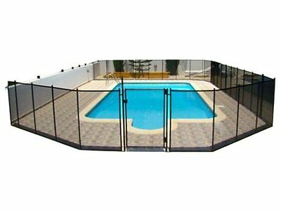 GLI NE181F 5-Feet by 12-Feet Safety Fence for In-Ground Pools
