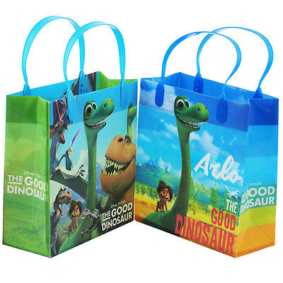"Good Dinosaur Authentic Licensed Reusable Medium 8"" Party Favor Goodie 12 Bags"
