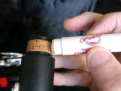 "ONE TUBE WINDCRAFT ""PREMIUM"" CORK GREASE Made in USA LIPSTICK STYLE JUST £2.29"