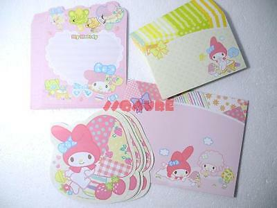 New Arrival! Sanrio My Melody and Friends Letter Set, 40 Papers + 21 Envelopes