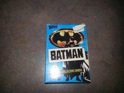 Topps 1989 Batman 33 Official Collector Cards Set D