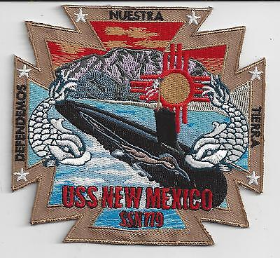 USS Indiana SSN 780 Patch **** NEW DESIGN LOW PRICE****  C7270