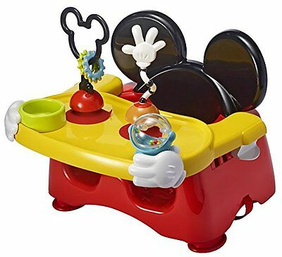 The First Years Disney Baby Helping Hands Feeding Activity Seat Mickey Mouse New