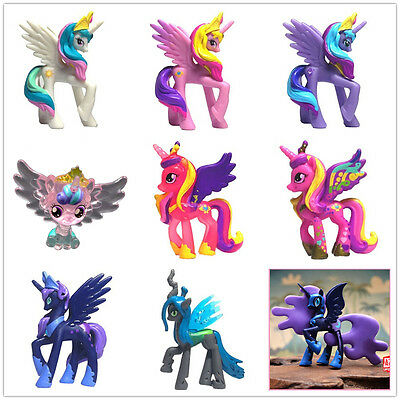 MLP My little pony 5cm figures toy princess cadance luna celestia nightmare moon