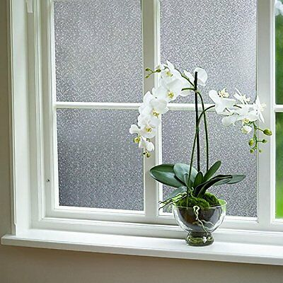 """Fancy-fix Vinly Frosted Privacy Window film 17.7"""" x 78.74"""" ( 45 x 200 cm - S090"""