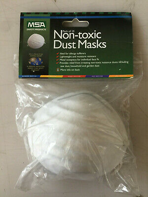 20 X Prosafe-Disposable-Respirator-Mask-Dust-Paint Chemical Industrial Face