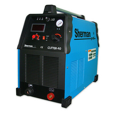 Sherman Plasma Cutter 90. Thickness cut 30mm! 85A current! SUP Voltage AC 50Hz