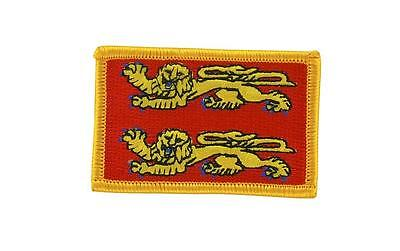 Patch ecusson brodé drapeau normandie normand thermocollant backpack