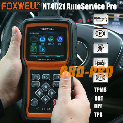 Foxwell NT4021 Pro OBD2 Diagnostic Scan Tool EPB,Oil reset Scanner