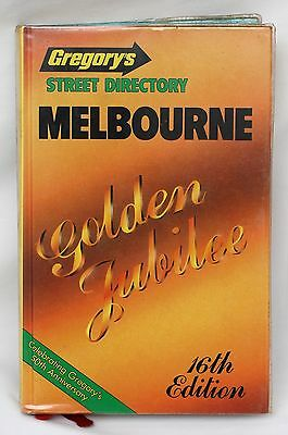 Gregory's Street Directory Melbourne 'Golden Jubilee' 16th Edition