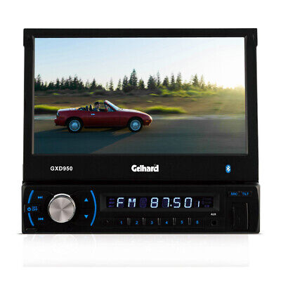 Multimedia Autoradio Gelhard GXD950 17,8 cm LCD TFT-Monitor USB SD MP3 Bluetooth