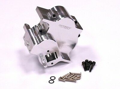 Integy Savage Xl Silver Cnc Alloy Centre Gear Box Case No Reverse For Hpi Savage