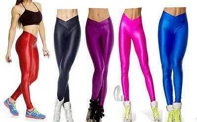 WHOLESALE BULK LOT OF 20 MIXED COLOU SIZE Neon Dance Sport Pants Leggings P025