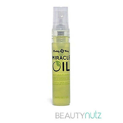 Earthly Body 100% Natural Miracle Oil Spray 0.4 oz/ 12mL for Dry Feet and Heels