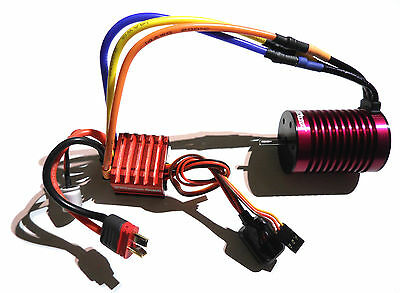 Turnigy Trackstar 9T Brushless Motor & 60A Speed Control ESC + Deans, Traxxas