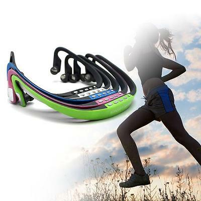 Wireless Headphone Earphone Sport MP3 Player with Cable for Jogging Cycling Yoga