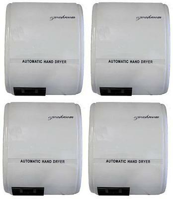 FOUR Automatic Hand Dryer Super Quiet Design 1500w European Style 25% OFF!