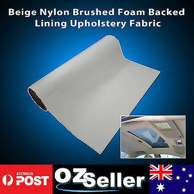 Foam Backed Roof Lining Headliner Upholstery Fabric 1.51M Width - Sold per Meter